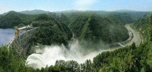 吉林桦甸白山发电厂